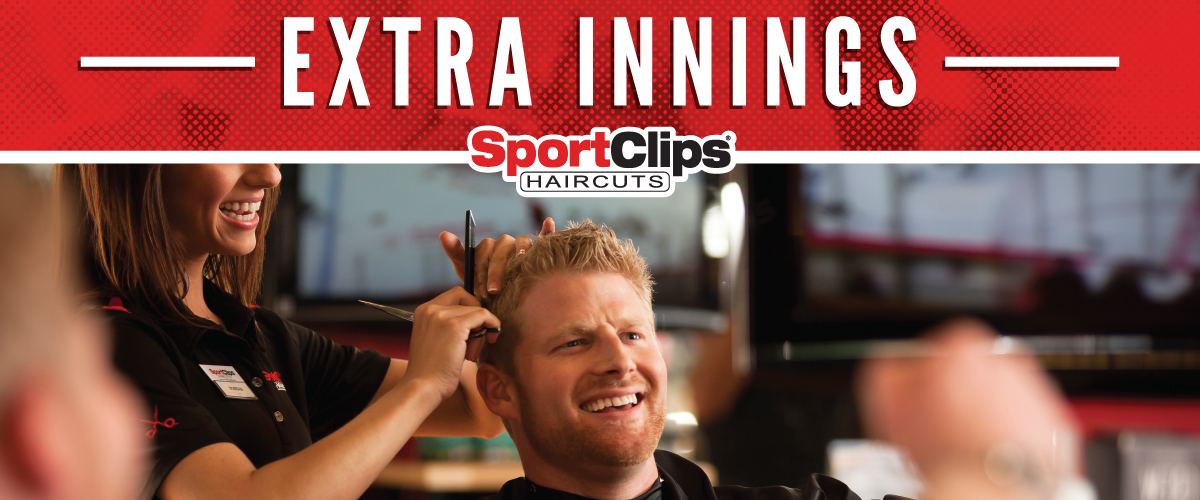 The Sport Clips Haircuts of Cave Creek - Tatum Ranch Extra Innings Offerings